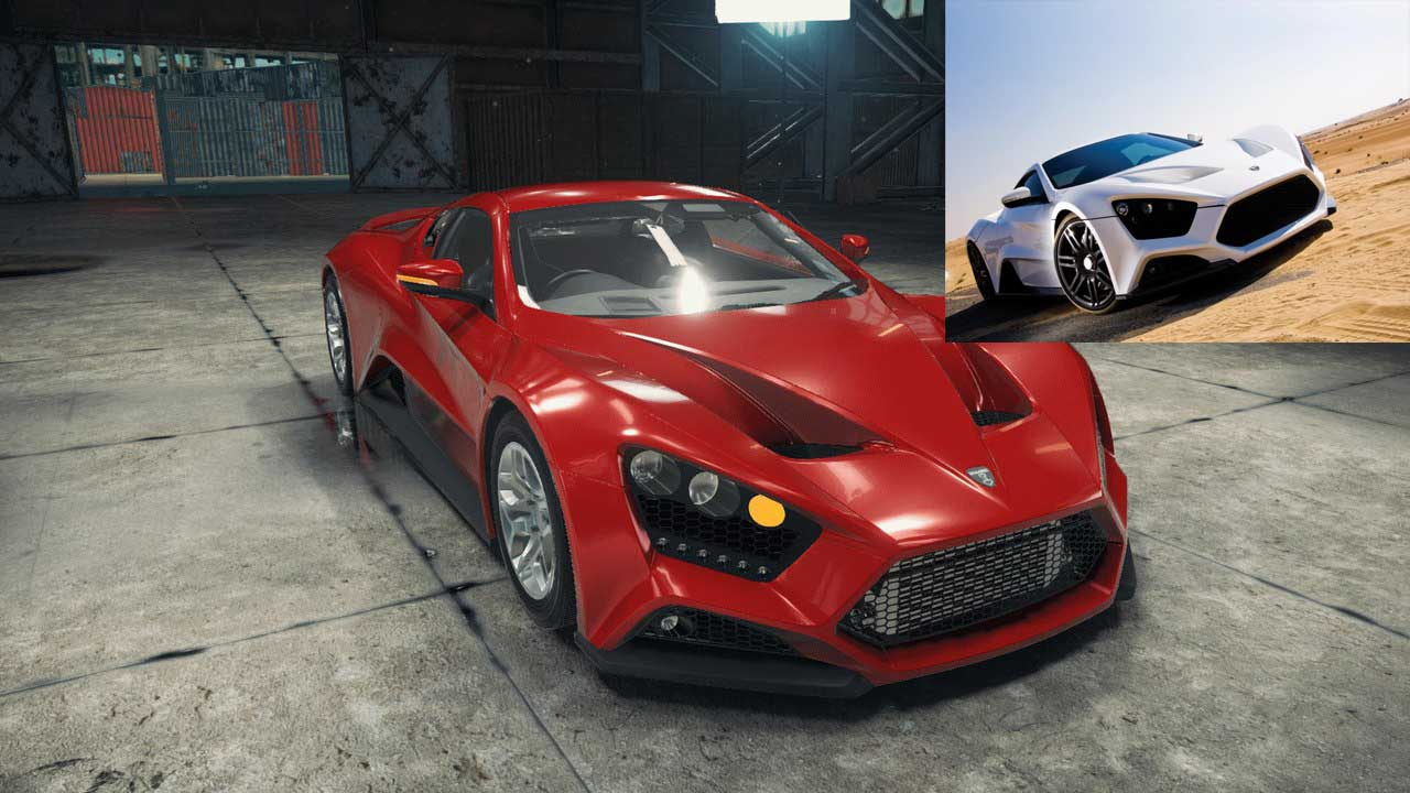 ZENVO ST1 car mechanic simulator mods