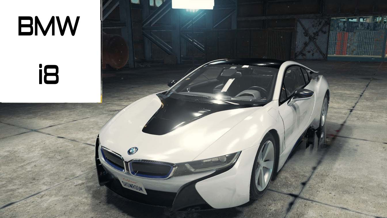 car mechanic simulator bmw i8