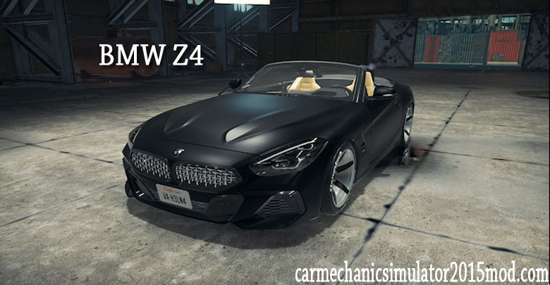 BMW Z4 for car mechanic simulator