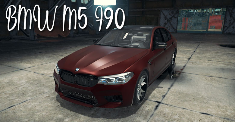 BMW M5 F90 – Car Mechanic Simulator 2018 mods