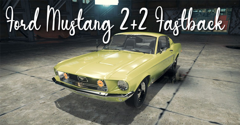 Ford Mustang 2+2 Fastback – Car Mechanic Simulator 2018 mods
