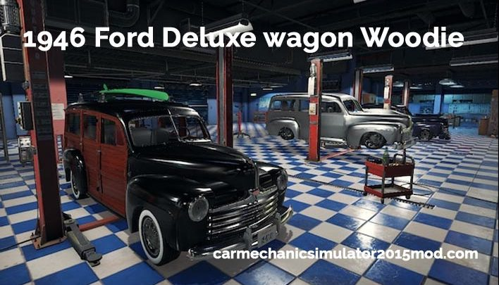 1946 Ford Deluxe wagon Woodie